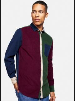 Colours & Sons Overhemd Cord Blocks Multicolor (9221 - 235 - 237)