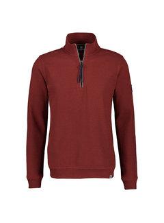 Lerros Half-Zip Sweater Burnt Red (2184402 - 354)