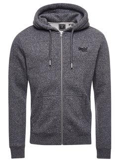 Superdry Vest Hooded Dark Charcoal (M2011883A - 6AL)