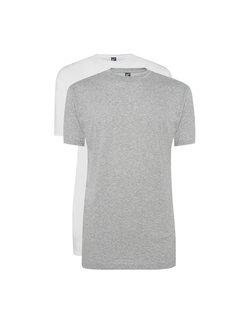 Alan Red T-shirts Virginia 2-pack Grey/White (3129 - 68)
