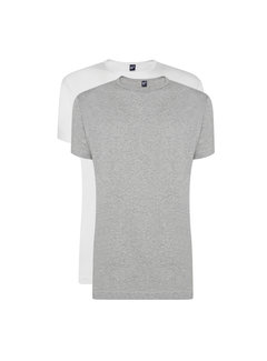 Alan Red T-shirts Derby 2-pack Grey/White (6672 - 68)