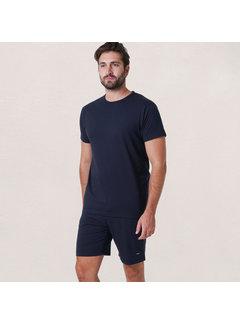 Alan Red Derby Set T-shirt + Short Navy (3319 - 06)