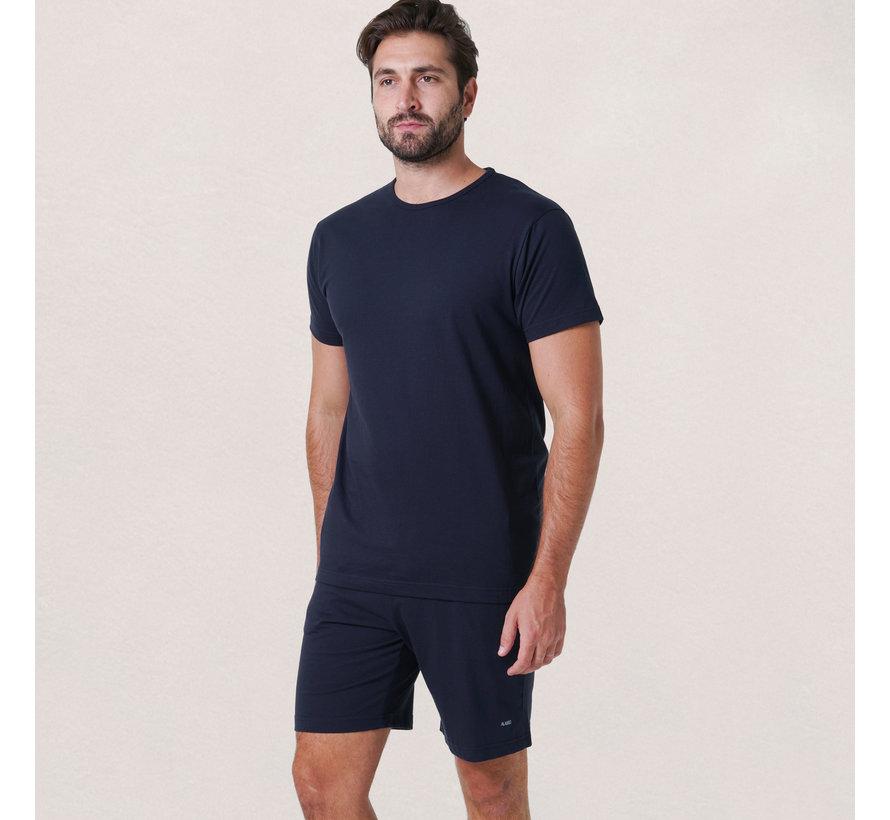 Derby Set T-shirt + Short Navy (3319 - 06)