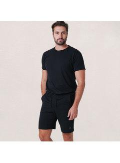 Alan Red Derby Set T-shirt + Short Black (3319 - 99)