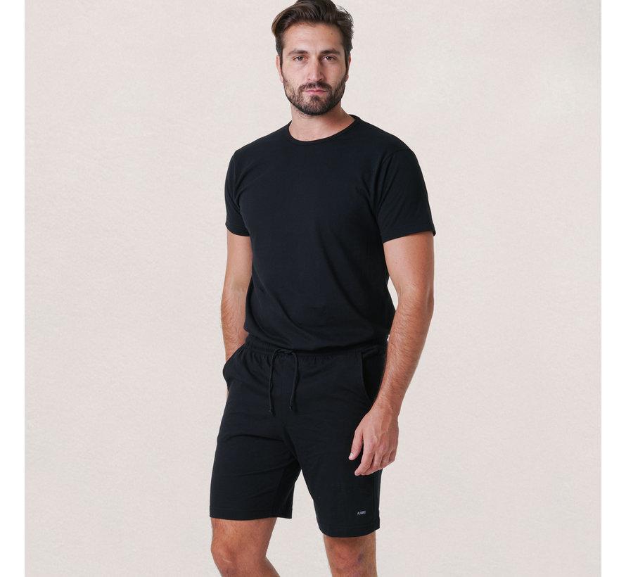 Derby Set T-shirt + Short Black (3319 - 99)
