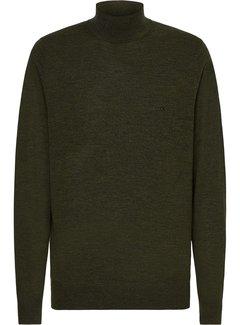 Calvin Klein Coltrui Wol Dark Olive Groen (K10K102736 - MRZ)