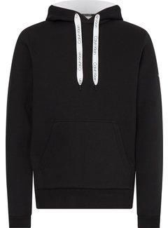 Calvin Klein Hooded Sweater Zwart (K10K107915 - BEH)