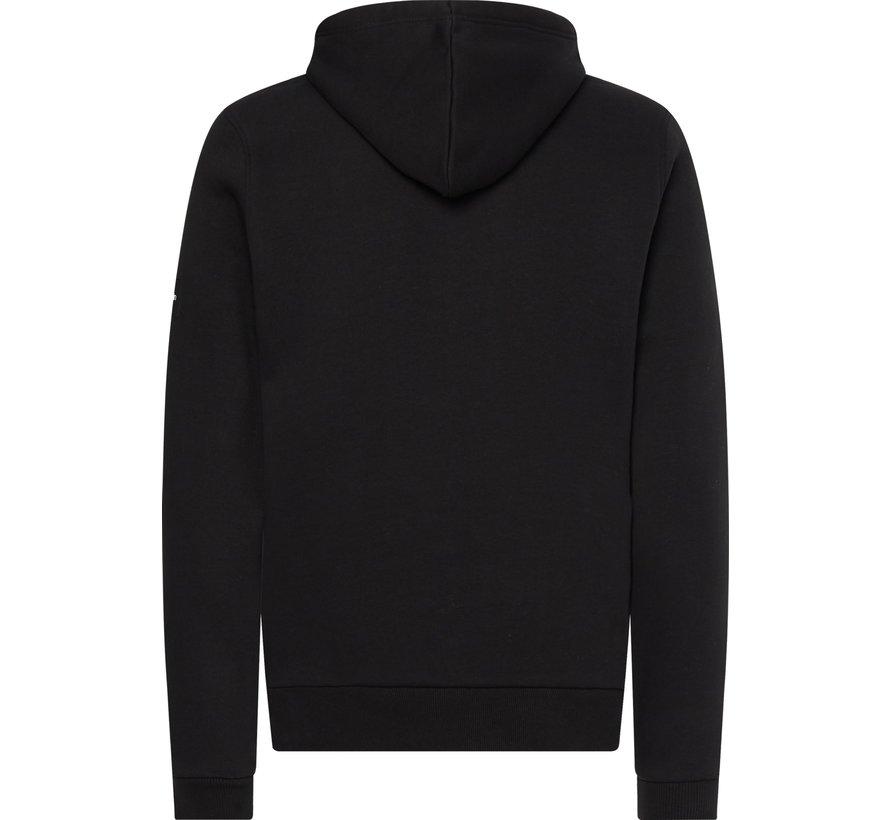 Hooded Sweater Zwart (K10K107915 - BEH)