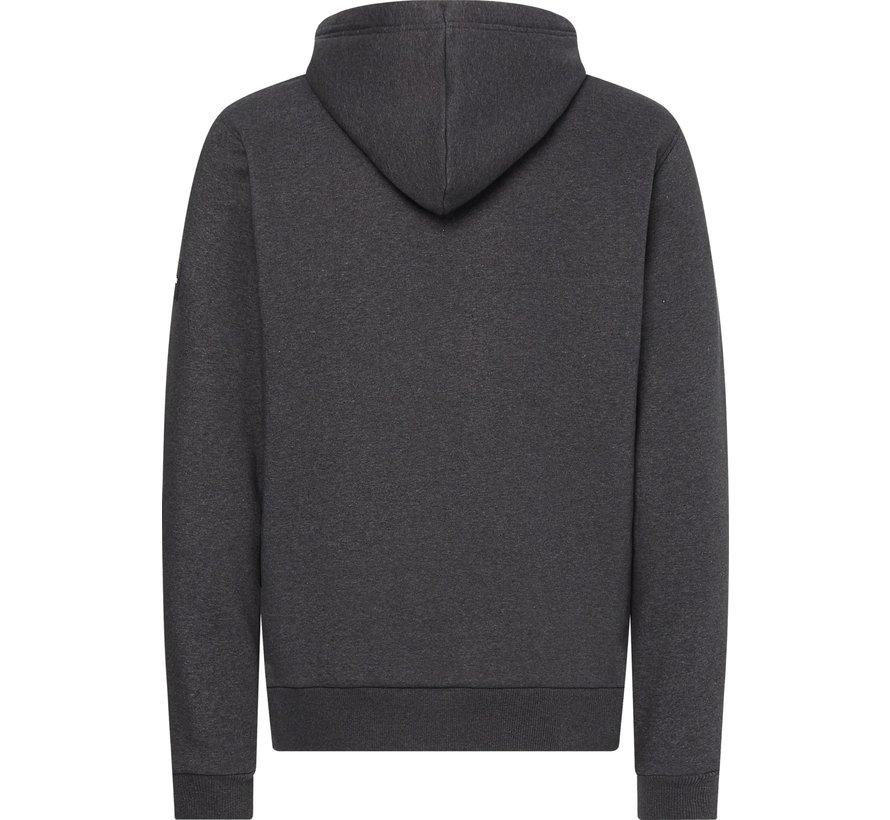 Hooded Sweater Grijs (K10K107915 - P4E)