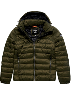 Superdry Puffer Jacket Fuji Dark Moss (M5011201A - GUL)