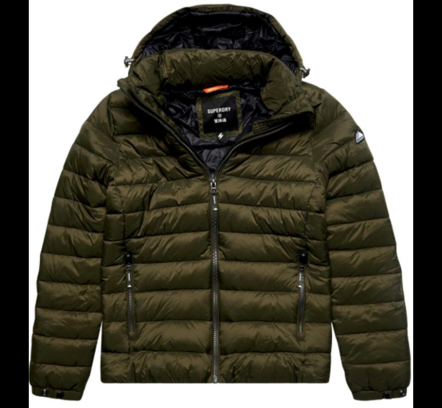 Puffer Jacket Fuji Dark Moss (M5011201A - GUL)