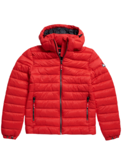 Superdry Puffer Jacket Fuji Risk Red (M5011201A - XX4)