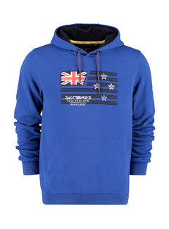 New Zealand Auckland Hooded Sweater Kimihia Blauw (21GN300A - 1631)