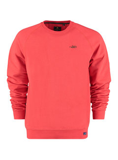 New Zealand Auckland Sweater Kinloch Rood (21GN302 - 1501)