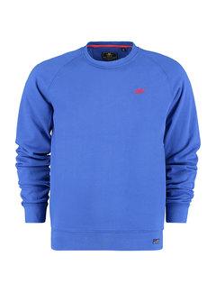 New Zealand Auckland Sweater Kinloch Blauw (21GN302 - 1631)