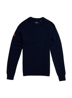 Superdry Trui Harlo Navy Blauw (M6110039A - CWT)