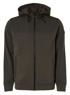 No Excess Vest Padded Jacquards Mud (12100918 - 149)