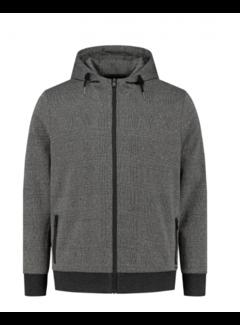 Dstrezzed Hooded Vest Milano Zwart/Grijs (211418 - 999)N