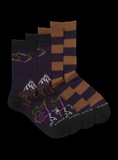 Scotch & Soda Sokken 2-Pack Dark Purple (164152 - 0217)