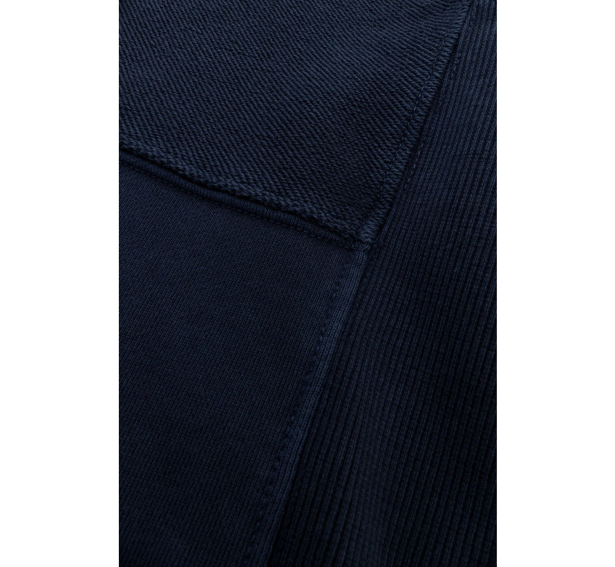Hooded Sweater Navy Blauw (9221 - 421 - 699)