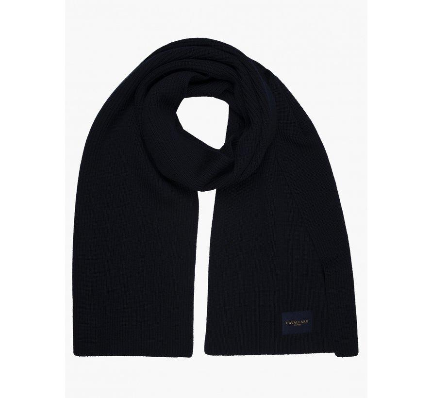 Sjaal Cimbro Navy Blauw (147215001 - 699000)B