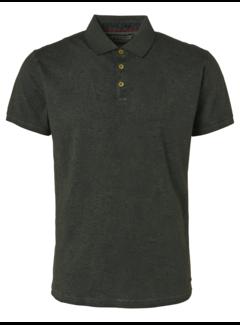 No Excess Polo All Over Printed Melange Polo Green (96370411 - 052)