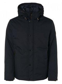No Excess Winterjas Normal Fit Hooded Navy (12630902 - 078)N