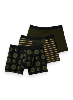 Scotch & Soda Boxershorts 3Pack Multicolor (164144 - 0219)