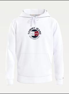 Tommy Hilfiger Hooded Sweater Wit (DM0DM11628 - YBR)