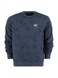 New Zealand Auckland Sweater Titoki Moondust Navy (21HN310 - 1621)