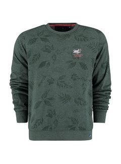 New Zealand Auckland Sweater Titoki Bayleaf Green (21HN310 - 1701)
