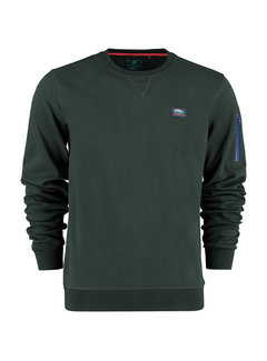 New Zealand Auckland Sweater Hikaka Bayleaf Green (21HN311 - 1701)