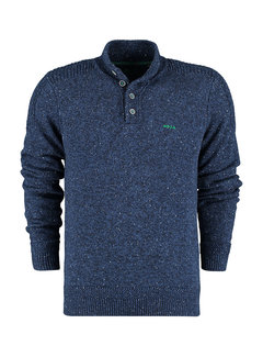 New Zealand Auckland Pullover Hine Rere Smooth Blue (21HN452 - 1631)