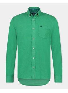 New Zealand Auckland Overhemd Waitoharo Thyme Green (21HN526 - 1721)
