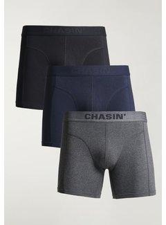 CHASIN' Boxershorts 3Pack THRICE MYLO Navy Blauw (9U00.172.112 - E60)