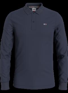Tommy Hilfiger Polo Lange Mouw Navy Blauw (DM0DM11336 - C87)