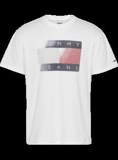 Tommy Hilfiger T-shirt Wit (DM0DM11625 - YBR)