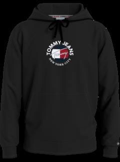 Tommy Hilfiger Hooded Sweater Zwart (DM0DM11628 - BDS)