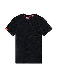 Superdry T-shirt Ronde Hals Zwart Space (M1010024A - VX7)