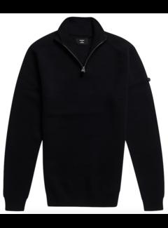 Superdry Trui Henley Zwart (M6110202A - 02A)