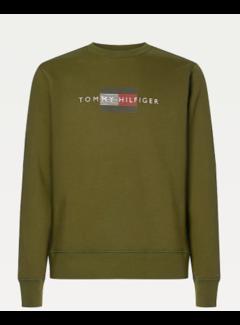 Tommy Hilfiger Sweater Olivewood (MW0MW20118 - GYY)