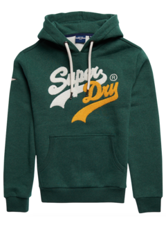 Superdry Hooded Sweater Green Marl (M2011391A - 6CV)