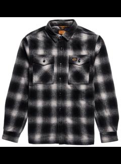 Superdry Overshirt Wol Zwart Onyx Check (M4010457A - 5ZB)