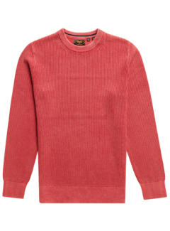 Superdry Trui Washed Campus Rood (M6110283A - 6JL)