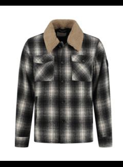 Dstrezzed Winterjas Carpenter Wool Check Black (101360 - 999)