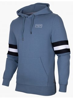 Cavallaro Napoli Hooded Sweater Sport Denim Blue (120215003 - 642000)B