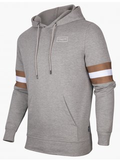 Cavallaro Napoli Hooded Sweater Sport Light Grey (120215003 - 910000)B
