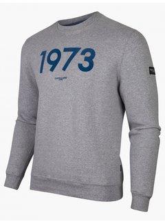 Cavallaro Napoli Sweater Massari 1973 Light Grey (120215006 - 910000)B