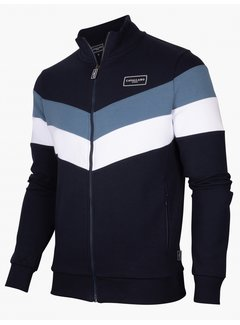 Cavallaro Napoli Vest Sport Sweatstof Dark Blue (120215002 - 699000)B
