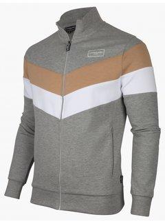 Cavallaro Napoli Vest Sport Sweatstof Light Grey (120215002 - 910000)B